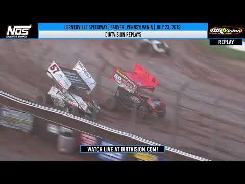 DIRTVISION REPLAYS | Lernerville Speedway July 23rd, 2019