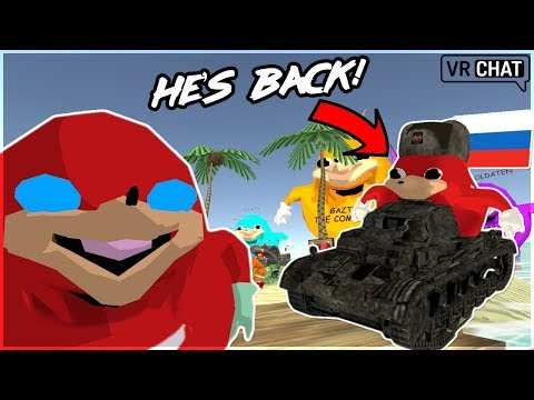 [VRChat] RUSSIAN KNUCKLES RETURNS + UGANDA MAP UPDATE!!