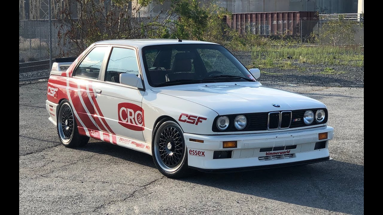 Video: Matt Farah in the 550 PS BMW E30 M3 with S55 engine