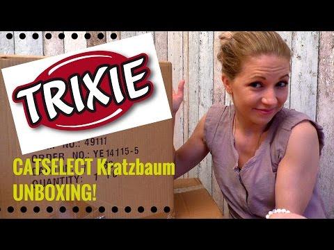 Catselect Kratzbaum Modulsystem von Trixie im Test - Folge 1 unboxing