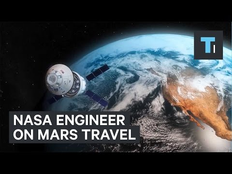 NASA engineer on Mars travel
