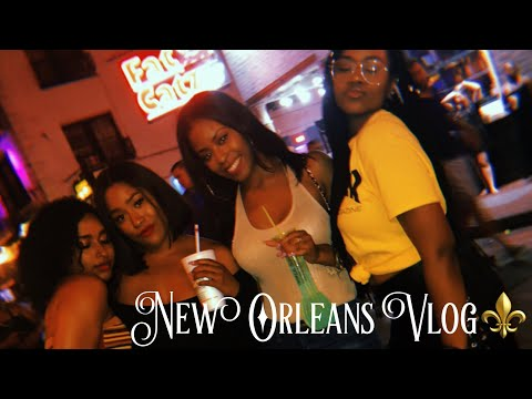 VLOG  NEW ORLEANS FOR THE WEEKEND ⚜�