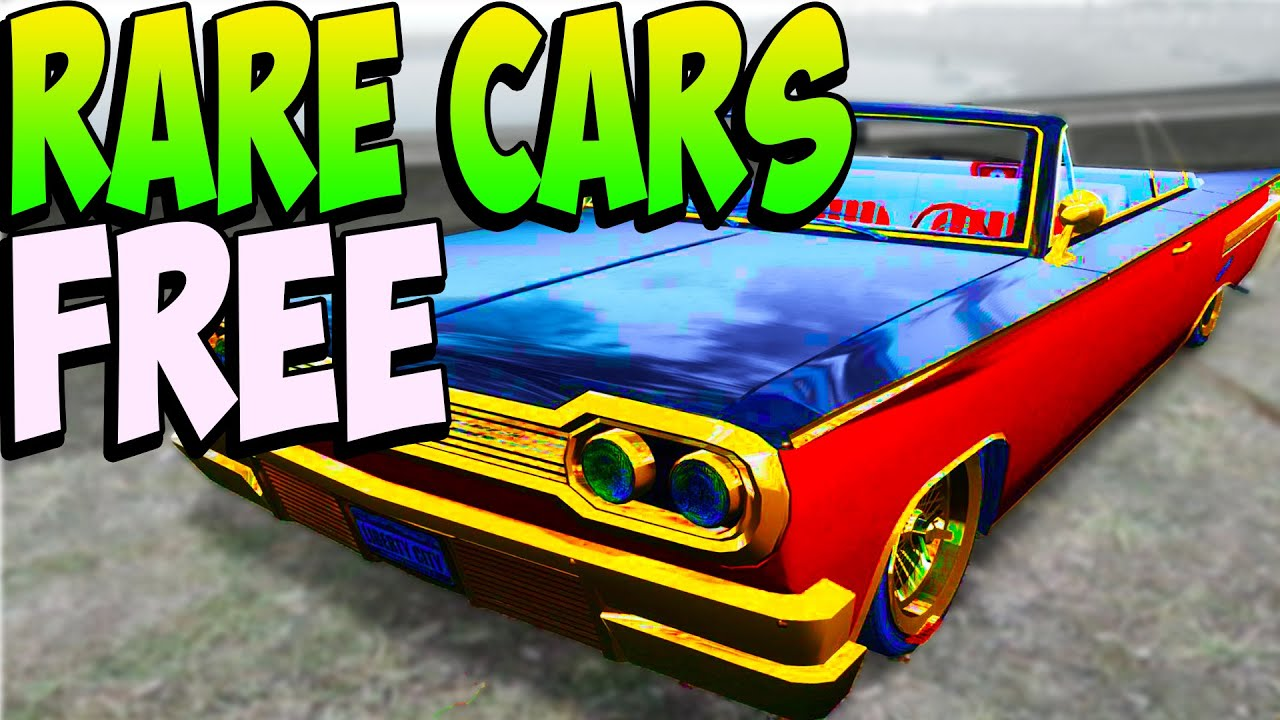 gta 5 how to find rare cars