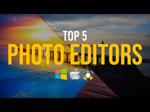 top 5 best free photo editing software 2018