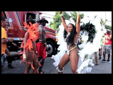 Kingston, Jamaica Carnival Road March 2014