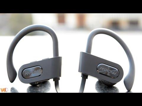 Top Wireless Earbuds Only $20 SWEATPROOF & WATERPROOF MPOW Flame Earphones - Alternative to Headset