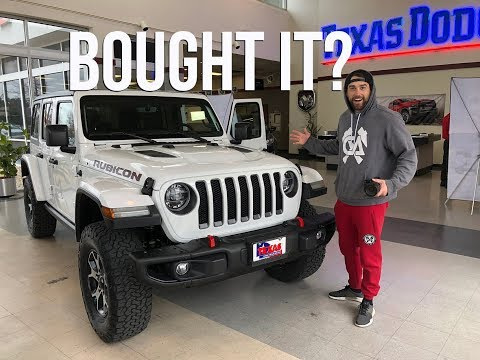 DID I REALLY BUY THE NEW JEEP WRANGLER JLU RUBICON 2018? (no)