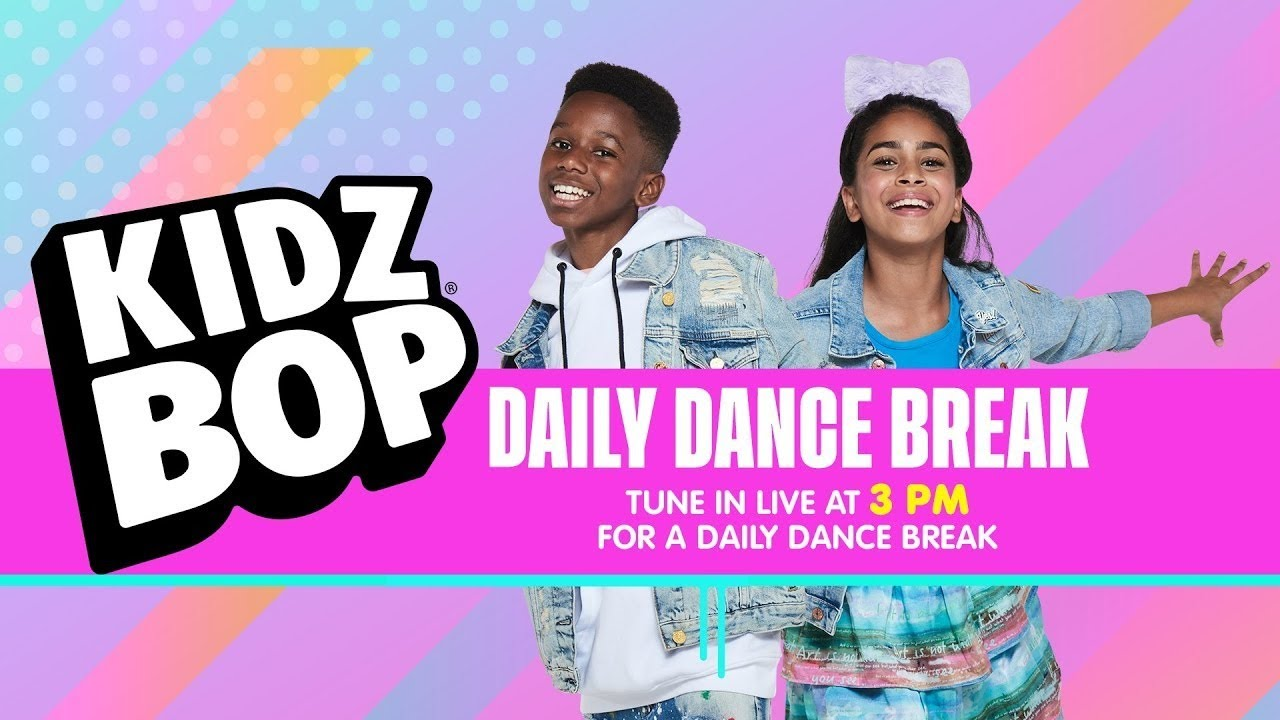 🔴 KIDZ BOP UK Dance Break [Wednesday 8th July]
