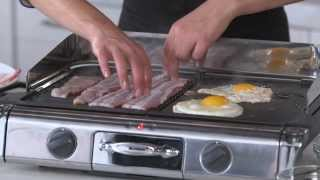 Breakfast Sandwiches on the All-Clad Grill Giddle  Williams-Sonoma