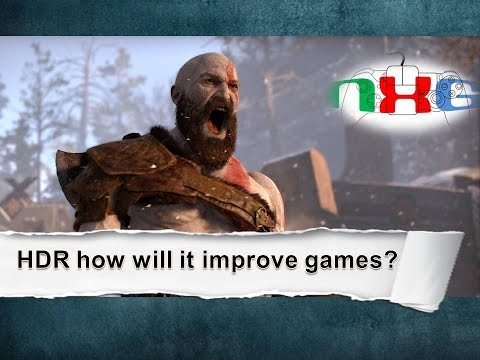 How will HDR improve games?