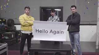 Baixar The Jonas Brothers Hello Again 'How the Tables Have Turned' Video Recreation on Instagram
