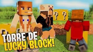 MINIGAME NOVO! - TORRE DE LUCKY BLOCK!