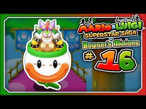 Mario Luigi Superstar Saga Bowser S Minions Part 16