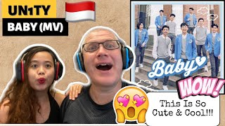 Download UN1TY - BABY   MUSIC VIDEO   REACTION! FIRST TIME REACTING TO INDO POP!🇮🇩