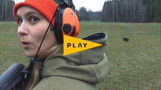 Vildmarken Play: Wild boar hunting with Mette Karin Petersen