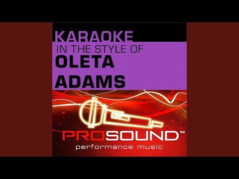 Holy Is The Lamb (Karaoke Instrumental Track) (In the style of Oleta Adams)