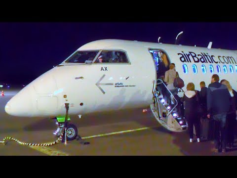 TRIP REPORT | airBaltic BT326 | Helsinki - Riga | Bombardier Dash-8 Q400