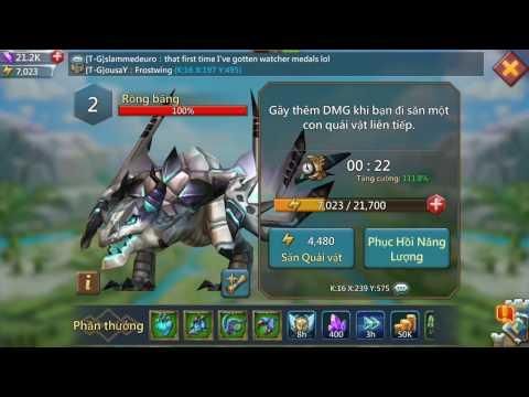 Lords Mobile: Hướng Dẫn Săn Rồng Băng (How To Kill Frostwing)