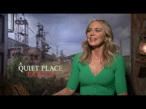 A QUIET PLACE PART II's Emily Blunt Talks Intense Physicality of Sequel [Interview]