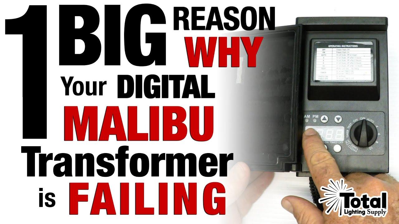 1 big reason why your digital malibu lighting transformer is failing by total outdoor lighting