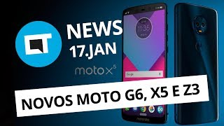 PlayStation 4 Pro no Brasil; Próximos smartphones da Motorola e + [CT News]