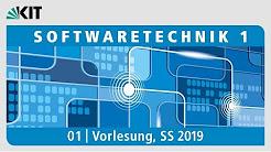 Softwaretechnik 1, Vorlesung, SS 2019