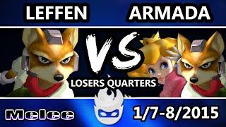 Video Paragon 2015 - Leffen (Fox) Vs. [A] Armada (Peach, Fox) SSBM Losers Quarters - Melee download MP3, 3GP, MP4, WEBM, AVI, FLV Januari 2018