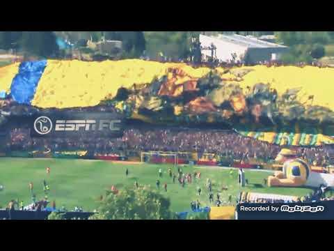 La hinchada de Rosario Central sacó la bandera más grande del mundo ante Newell's