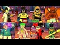 LEGO DC Super Villains Batman All The Animated Series Characters Unlocked