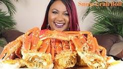 SEAFOOD BOIL MUKBANG  , SNOW CRAB LEGS  , Bloveslife Seafood Sauce