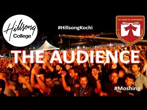 Hillsong Kochi  Concert : Rare Video - Watch the Audience reaction