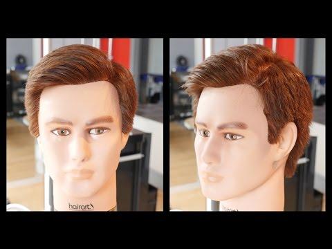 men's haircut tutorial - grant