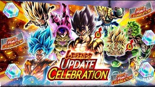 AMAZING CELEBRATION TICKETS! Legends Celebration Summons: Dragon Ball Legends
