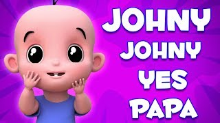 Johny Johny да папа | дети рифмовать | Johny Johny Yes Papa | Preschool Songs | Nursery Rhymes