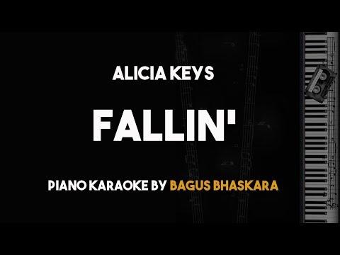 Fallin - Alicia Keys (Piano Karaoke with Lyrics)