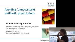 Consultation skills for avoiding antibiotic prescriptions - Prof Hilary Pinnock