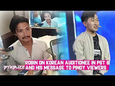 Robin Padilla nag-react sa Korean na sumali sa PGT 6; May message sa mga netizen na nagalit sa kanya