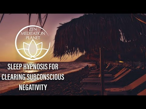 Sleep Hypnosis for Clearing Subconscious Negativity