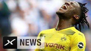 BVB-Schock! Batshuayi fehlt im BL-Endspurt   Borussia Dortmund   SPOX