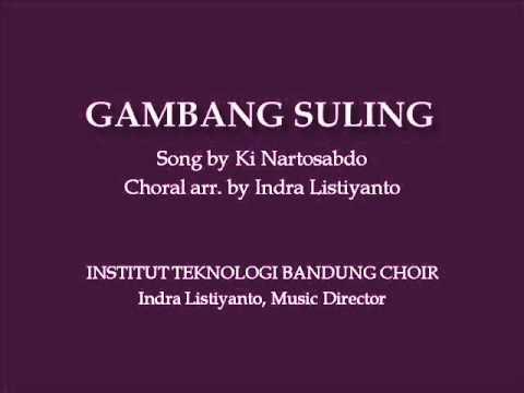 ITB Choir sings Gambang Suling