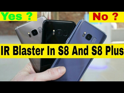 Does the Samsung Galaxy S8 Feature an IR Blaster?
