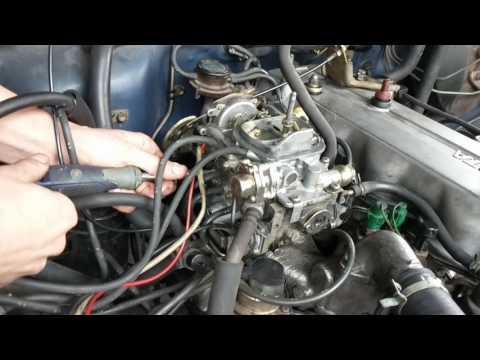 22r How to Adjust Aisin Carburetor (Throttle & Fuel