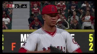MLB 18 The Show-Cincinnati at LA Angels of Anaheim Game 1