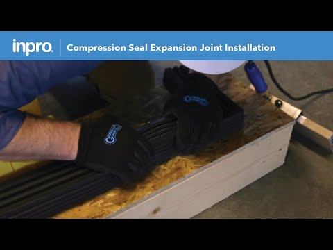 JointMaster® Compression Seal Installation