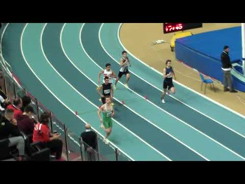 İstanbul U18 Taf Turkcell Salon Yıldızlar Türkiye Şampiyonası 400 metre erkekler 11  seri