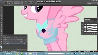 Урок 4.Рисуем костюм пони в фотошопе cs6.