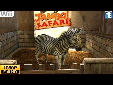 Jambo! Safari - Wii Gameplay 1080p (Dolphin GC/Wii Emulator)