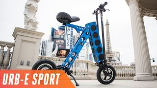 URB-E Sport is a cheaper, lighter electric vehicle