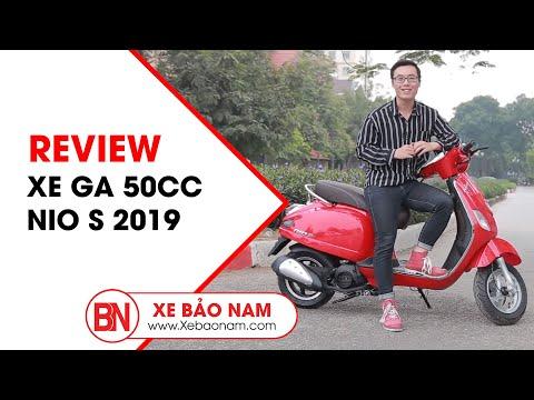 Xe Ga 50cc Nio S 2019 Chính Hãng Nioshima | Giá 19.900.000đ ► Học Sinh 15 Tuổi Kiểu Dáng đẹp(HD)