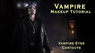 Vampire Makeup How-to, Dark Vampire Halloween Makeup Tutorial(An Illusion Lab Looks Tutorial showing how you can create your own Dark Vampire makeup for Halloween, Film or theater production. WEBSITE: ..., 2011-10-12T02:01:42.000Z)